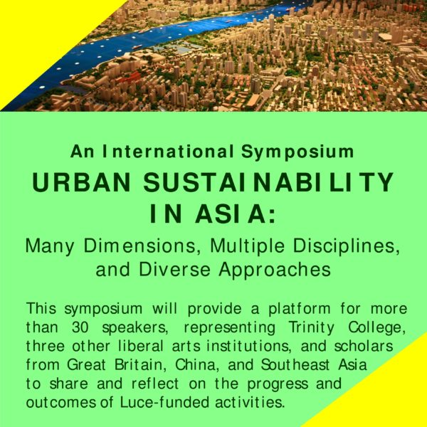 Urban Sustainability in Asia: Many Dimensions, Multiple Disciplines, & Diverse Approaches