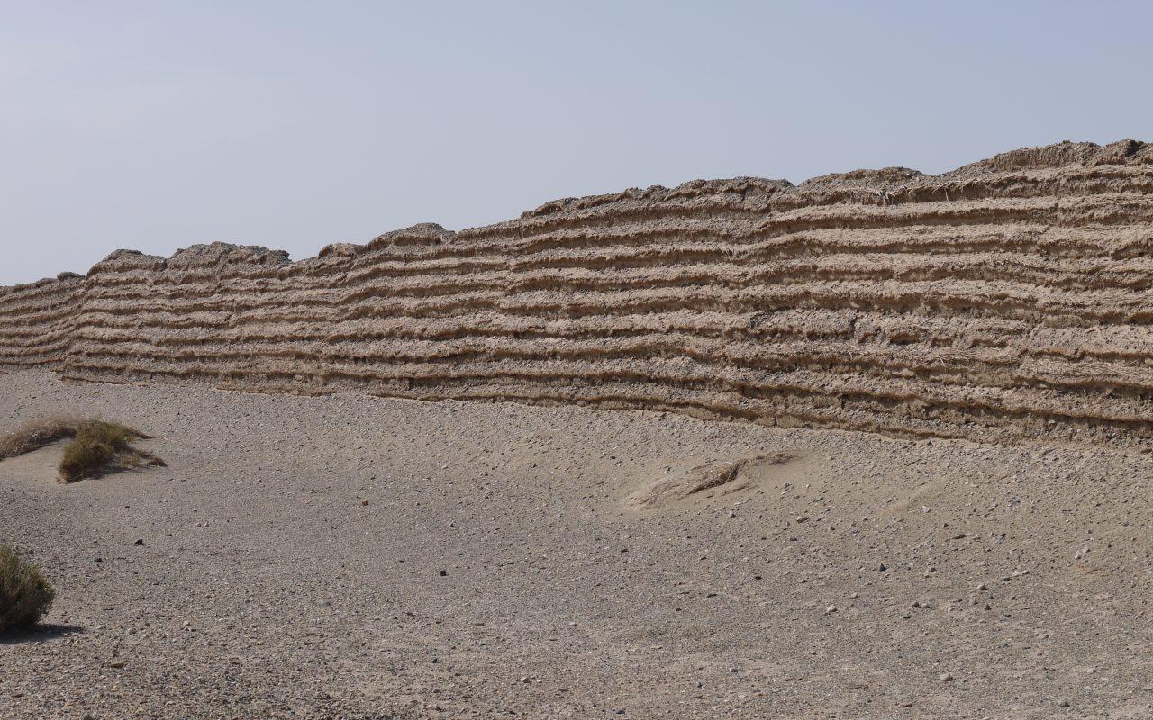 Han Great Wall Gobi Desert