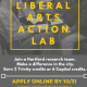 Trinity College Unveils New Liberal Arts Action Lab